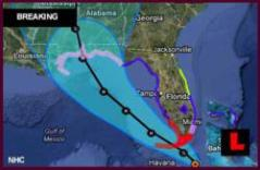 Hurricane Issac: A NOAA Geographical Prospective