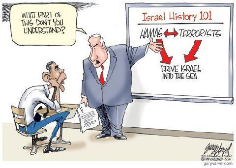 Obama the Muslim Donkey gets a History Lesson 101
